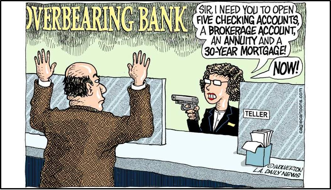 Wells Fargo cartoon