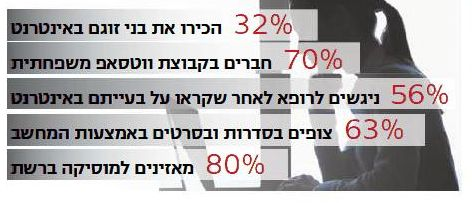 Graph -- Hebrew newspaper Internet use